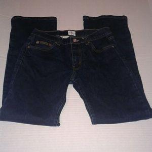 Calvin Klein women's jeans dark wash